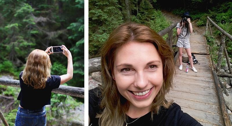 Selfie na szlaku