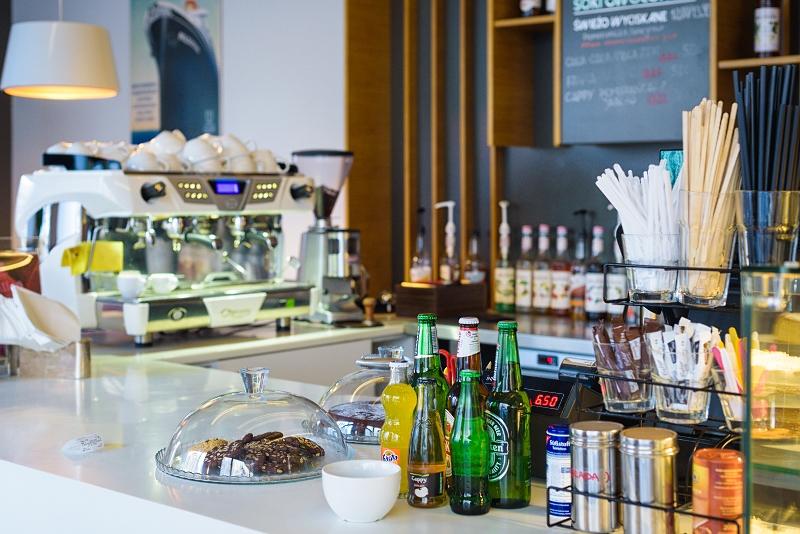 Bar/ lada w Corner Cafe w Gdyni