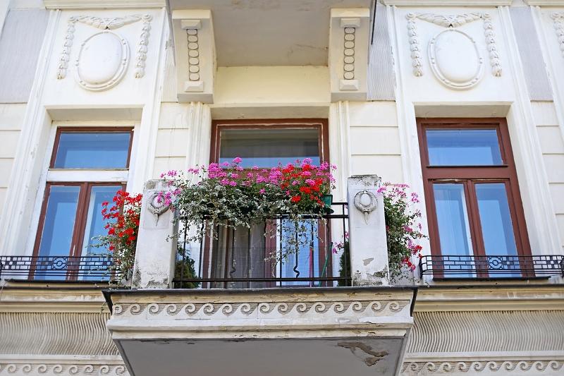 Balkon w Zamościu