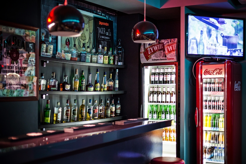 Casino Diner - alkohole
