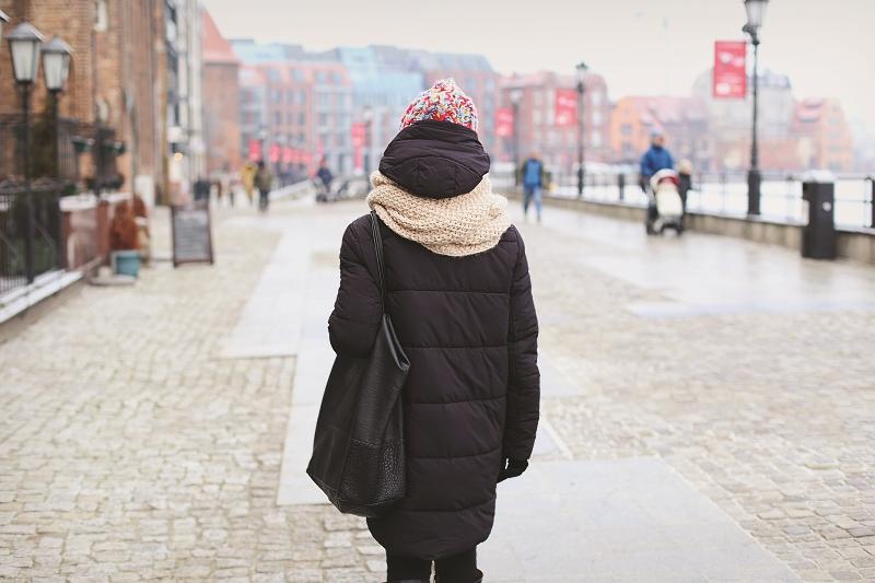 Ciepła stylizacja na zimę