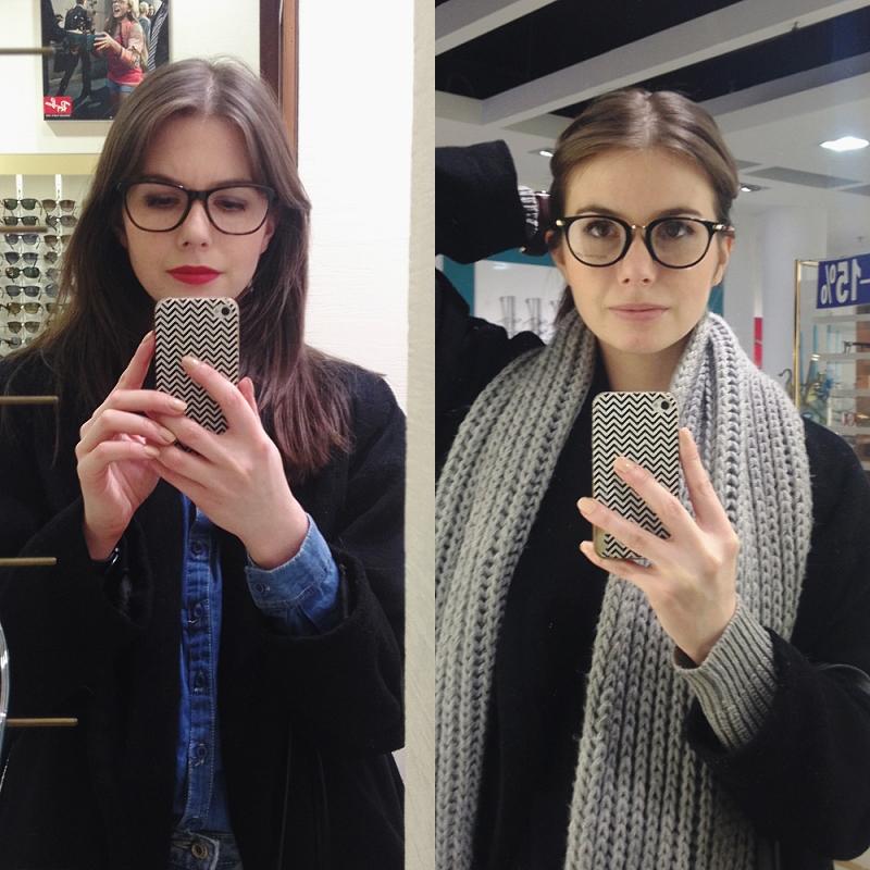 Okulary korekcyjne - wybór oprawek