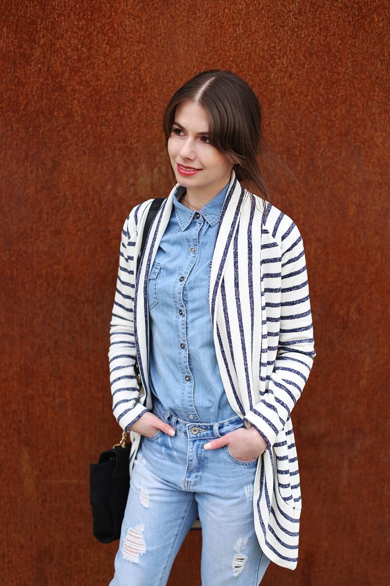 Jeansowa stylizacja