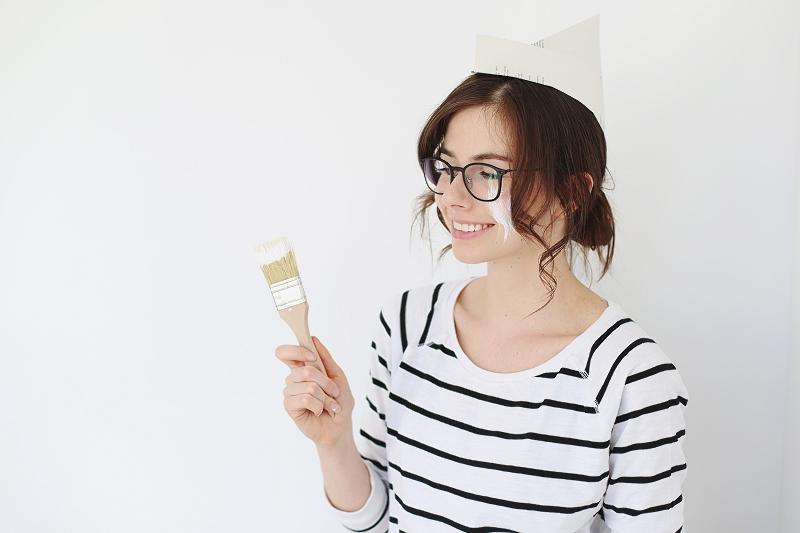Malowanie ścian - remont mieszkania