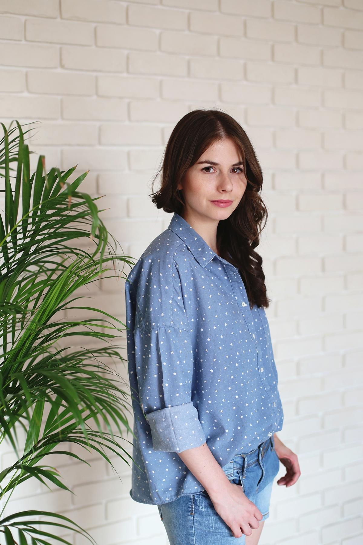 Jeansowa koszula & szorty