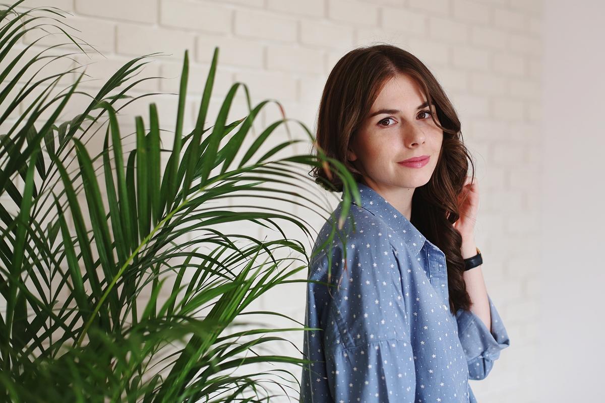Portret - blog modowy