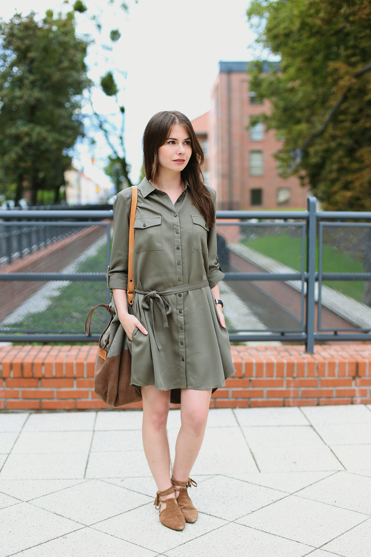Sukienka typu szmizjerka