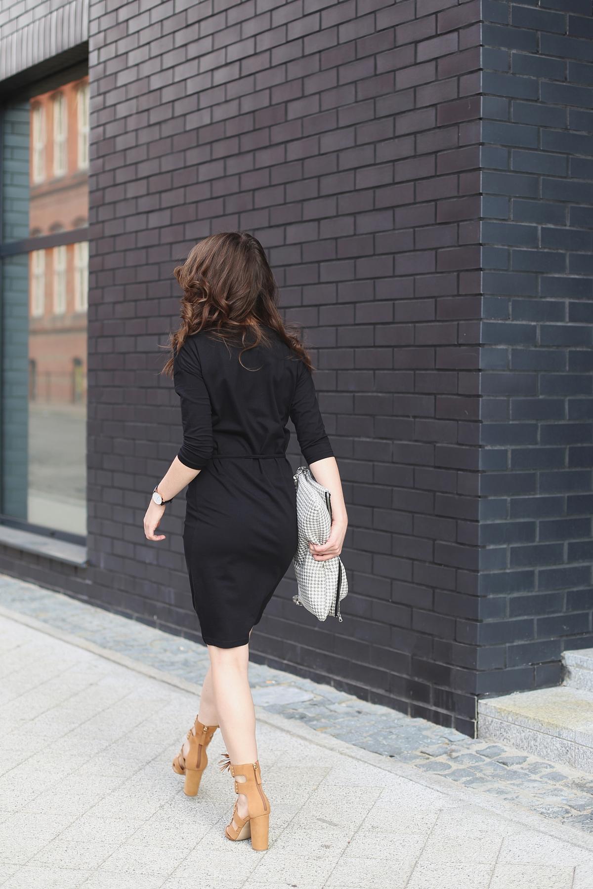 Street style - mała czarna