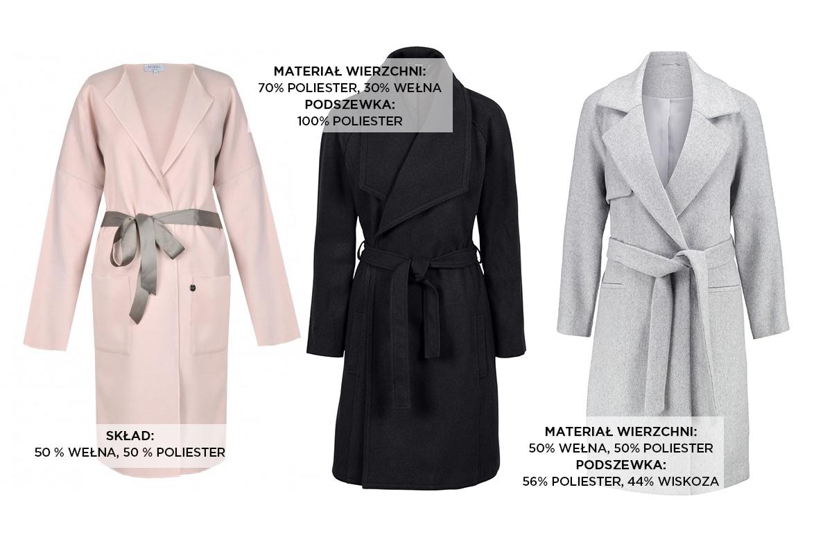 Klasyczne płaszcze Domodi
