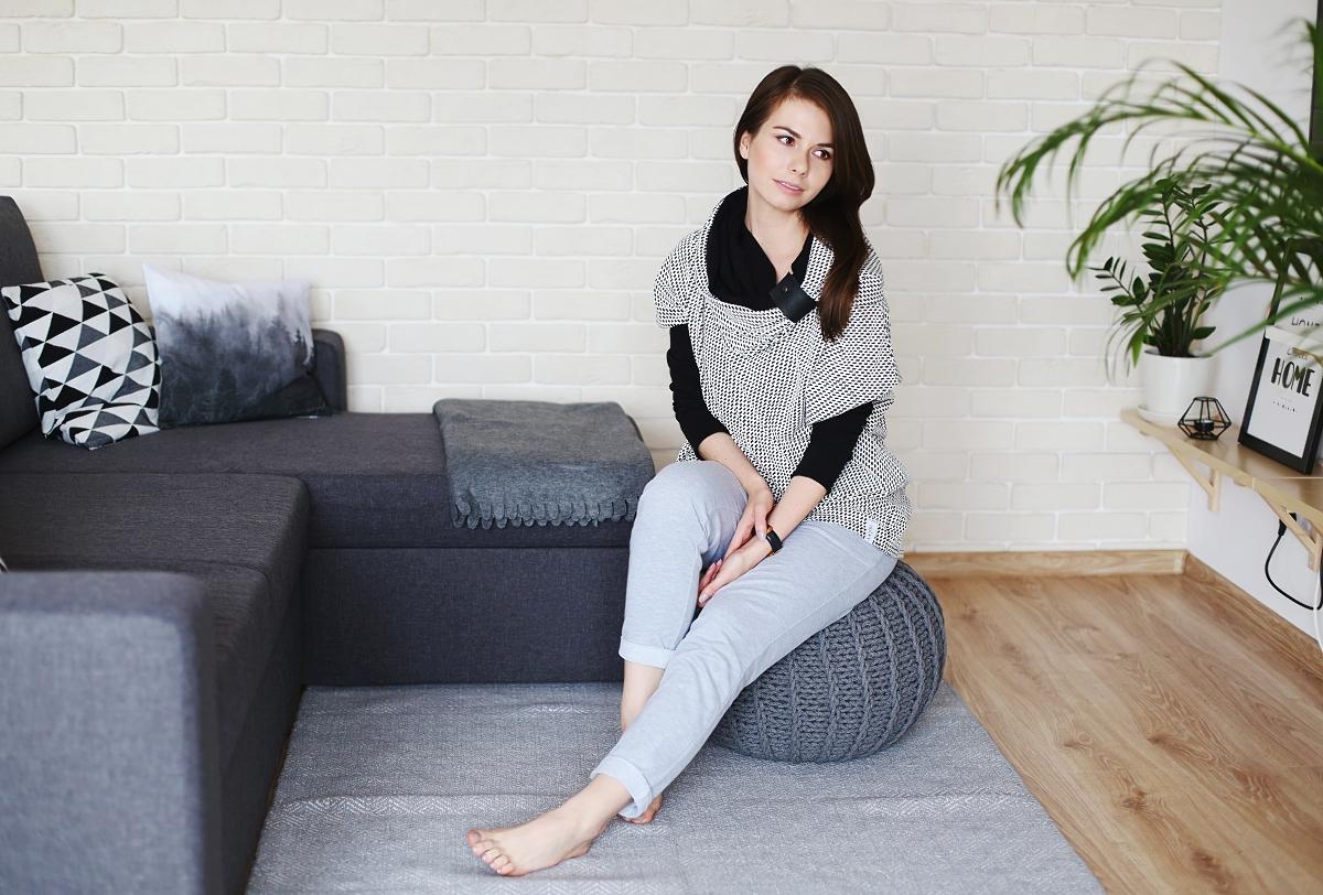 Mieszkanie w skandynawskim stylu & stylizacja dresowa