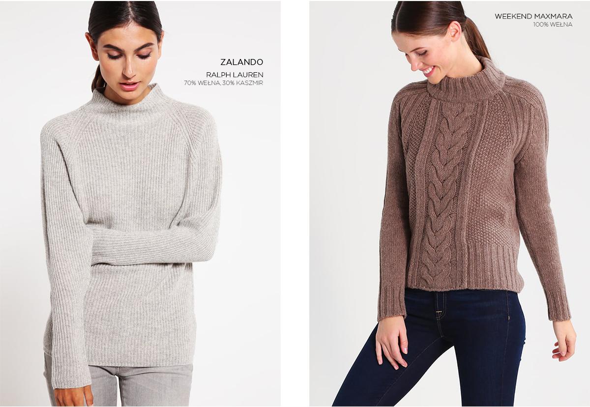 Wełniane swetry Zalando