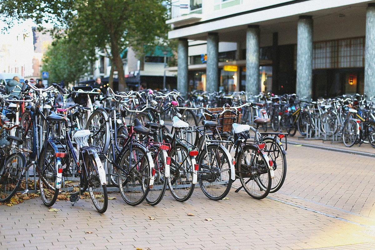 Parking dla rowerów - Holandia