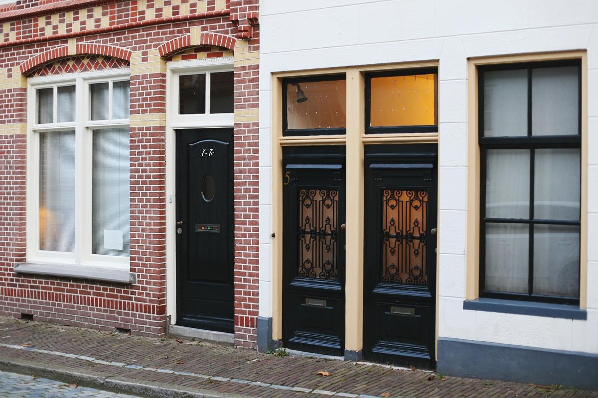 Piękne drzwi w Groningen