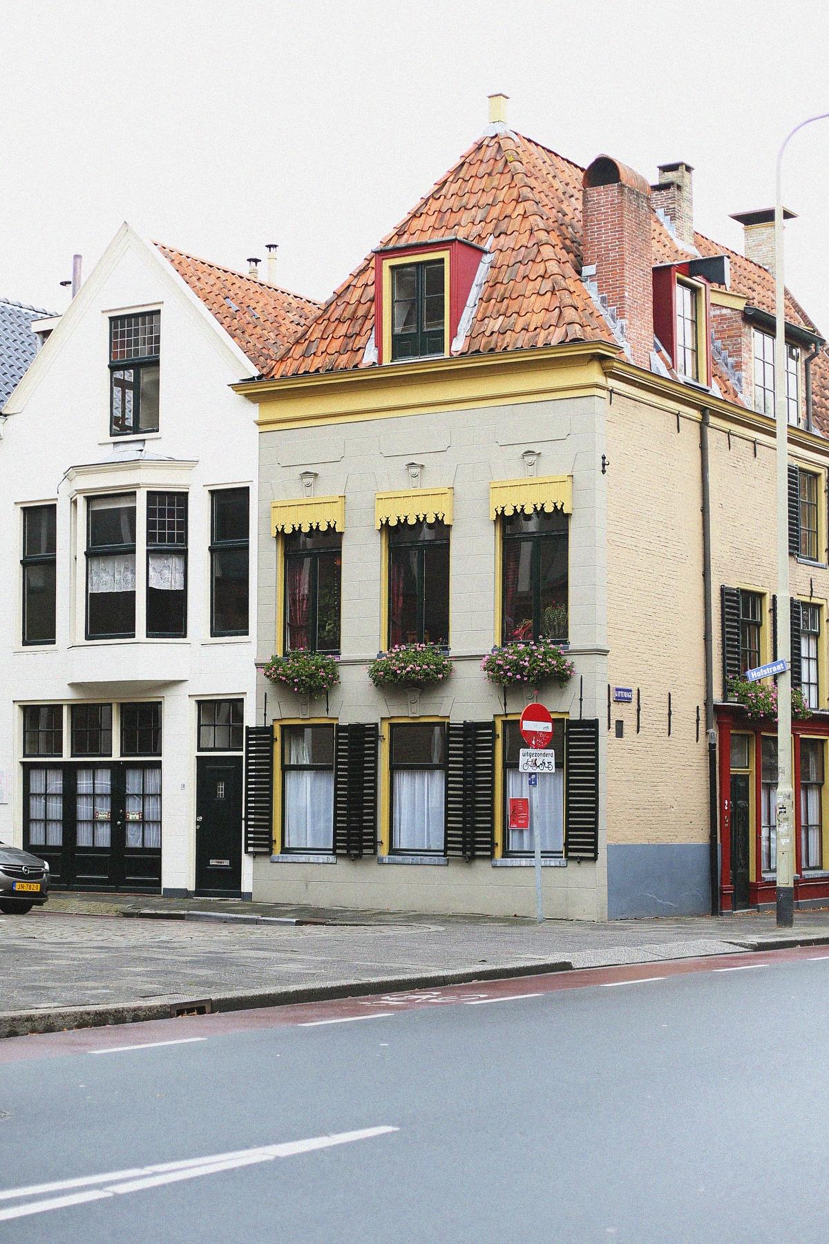 Piękne kamienice w Groningen