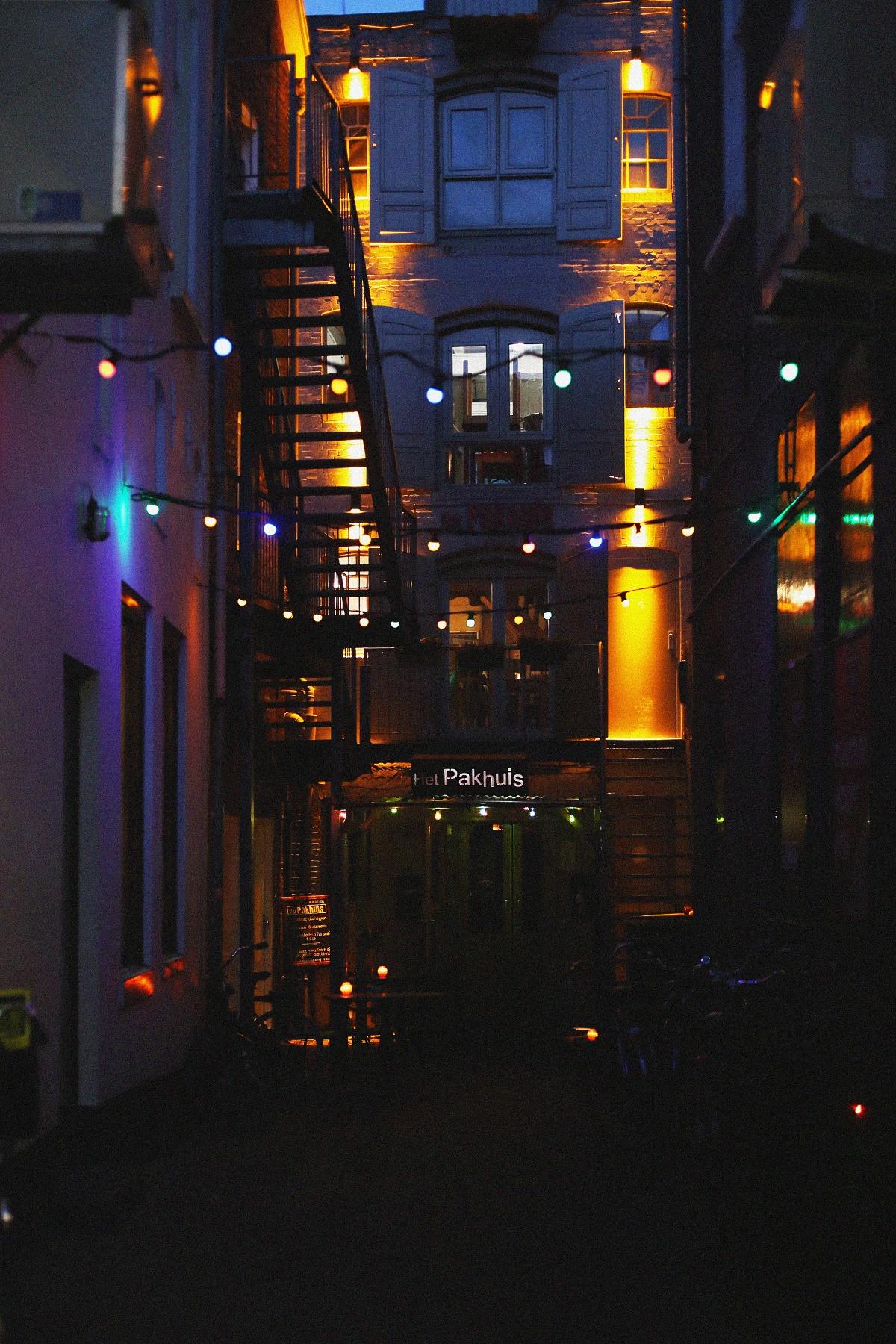 Groningen nocą