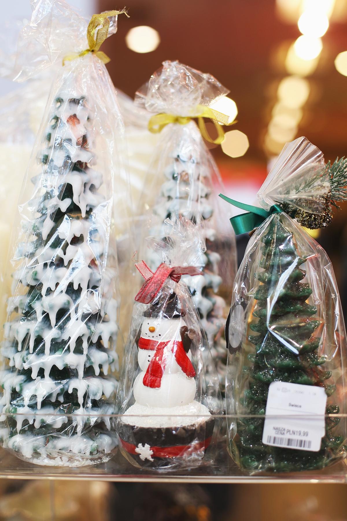 Prezenty świąteczne - świeczki