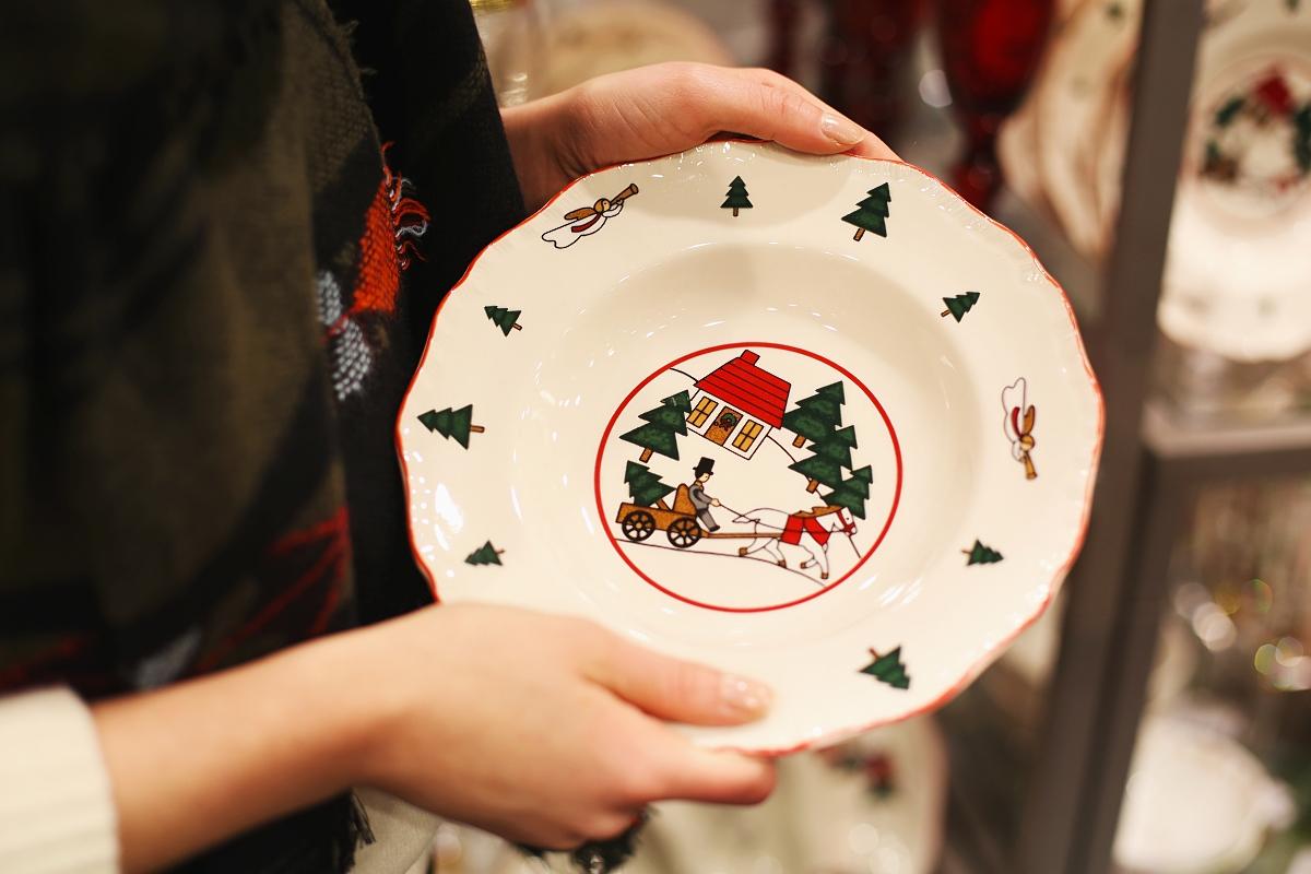 Świąteczny talerz