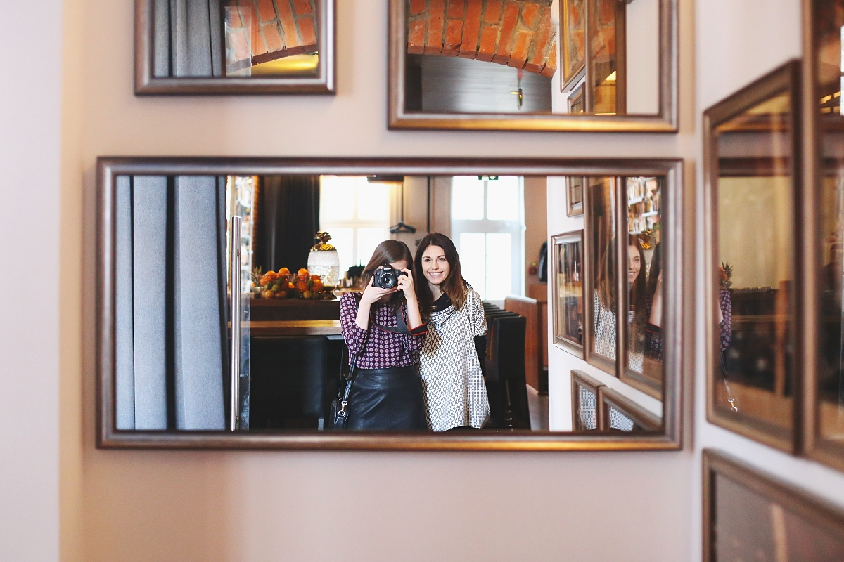 Selfie - restauracja Eliksir