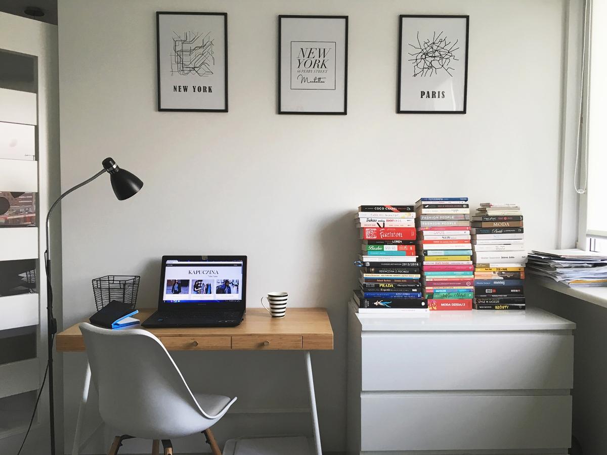 Czarno białe grafiki na ścianę - mapy i adres Carrie Bradshaw