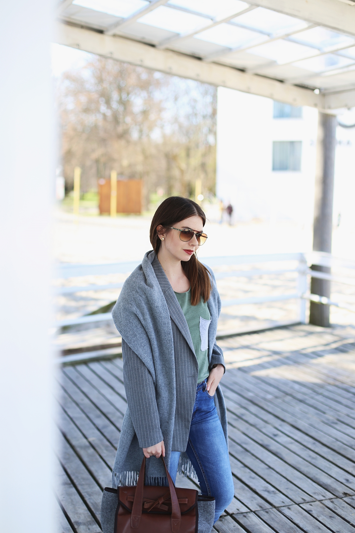 Casual outfit - sesja w Sopocie