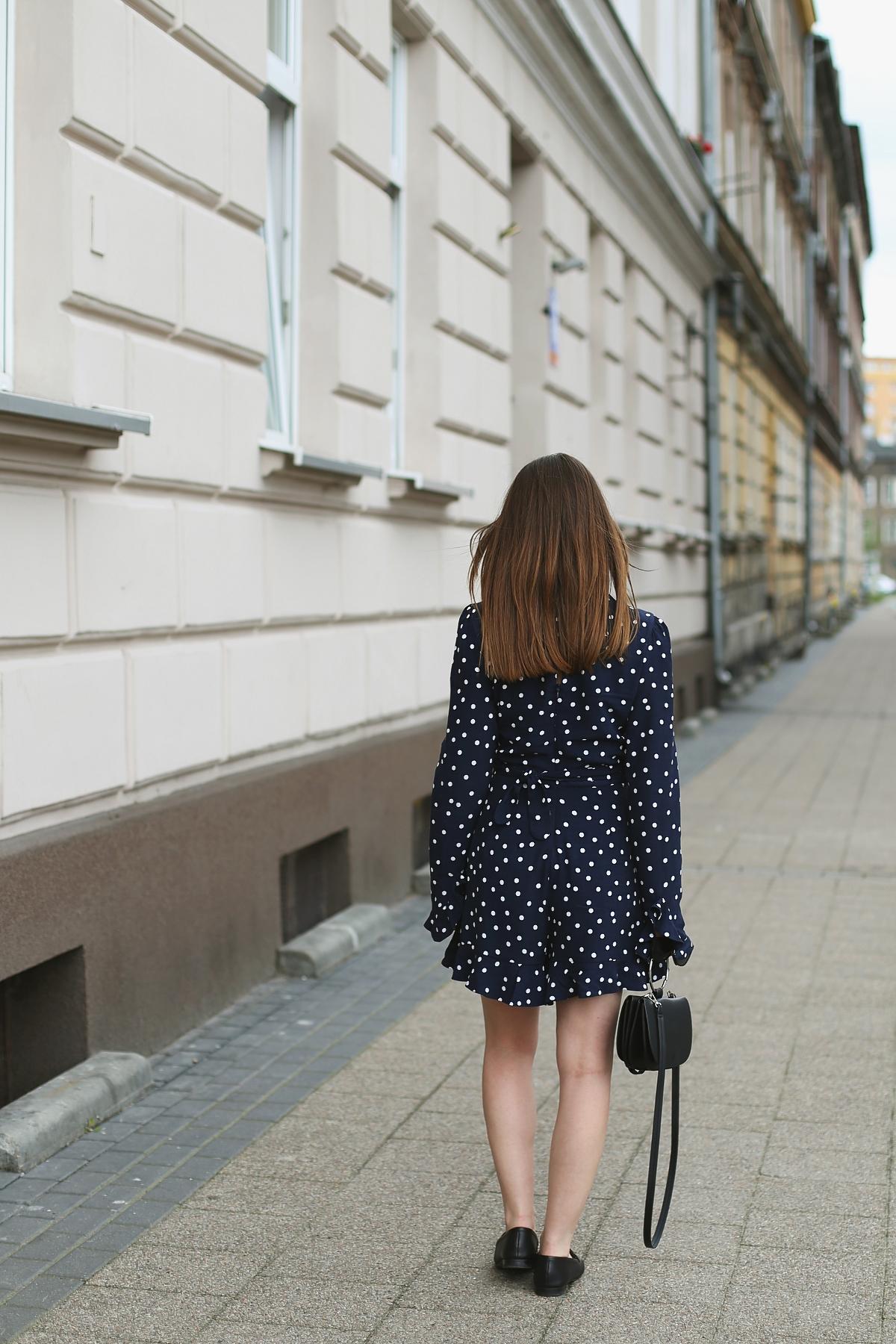 Kombinezon w grochy - blog modowy Gdańsk