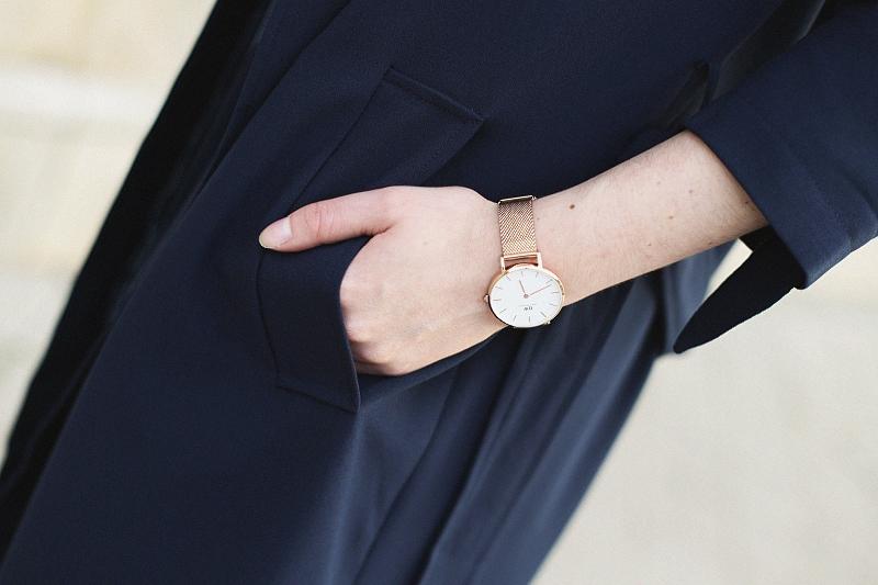 Zegarek Daniel Wellington - złoty