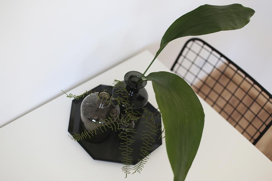 Jadalnia - akcesoria, liście