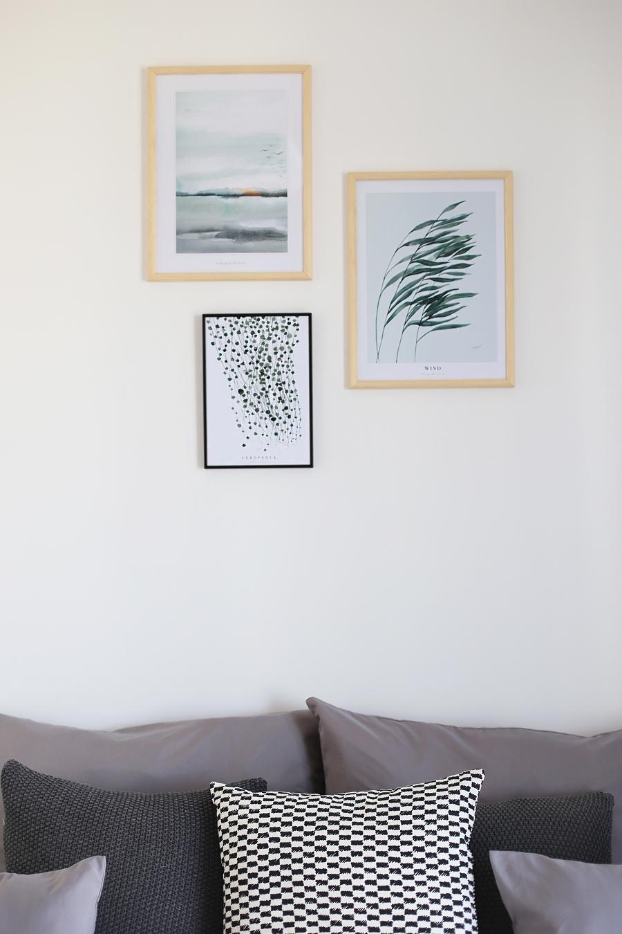 sypialnia - obrazy botaniczne Margo Hupert