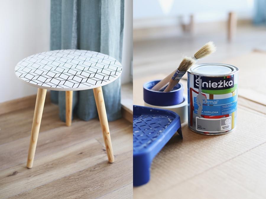 Stolik kawowy DIY - Śnieżka Supermal