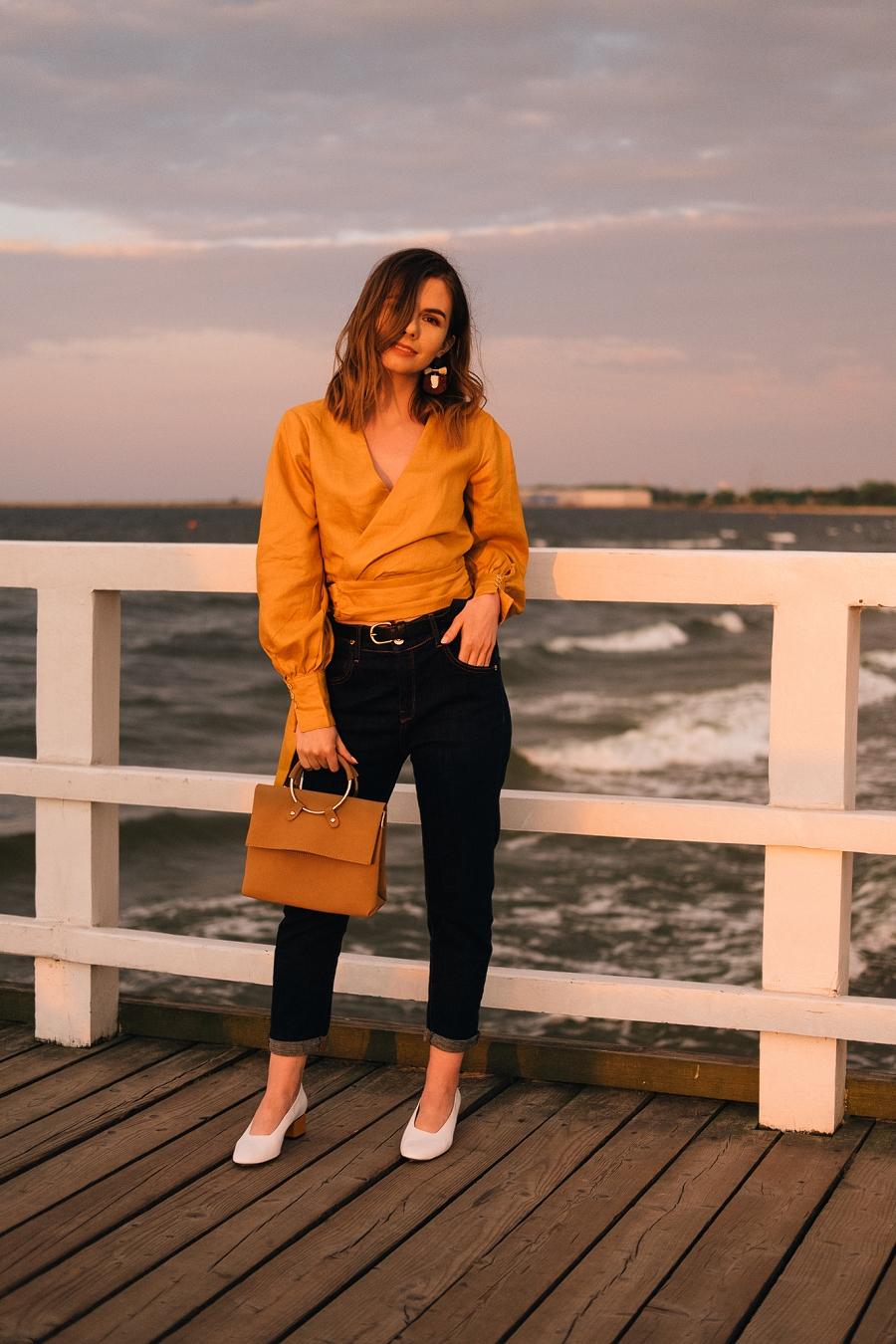 Style Guide Answear.com - klasyczne jeansy z ciemnego denimu