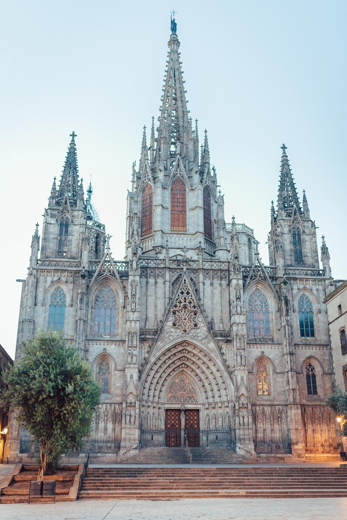 Barcelona Katedra Świętej Eulalii