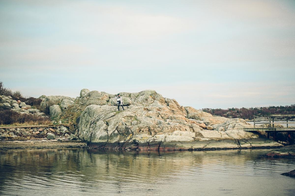 wyspa Brännö Szwecja Göteborg skały