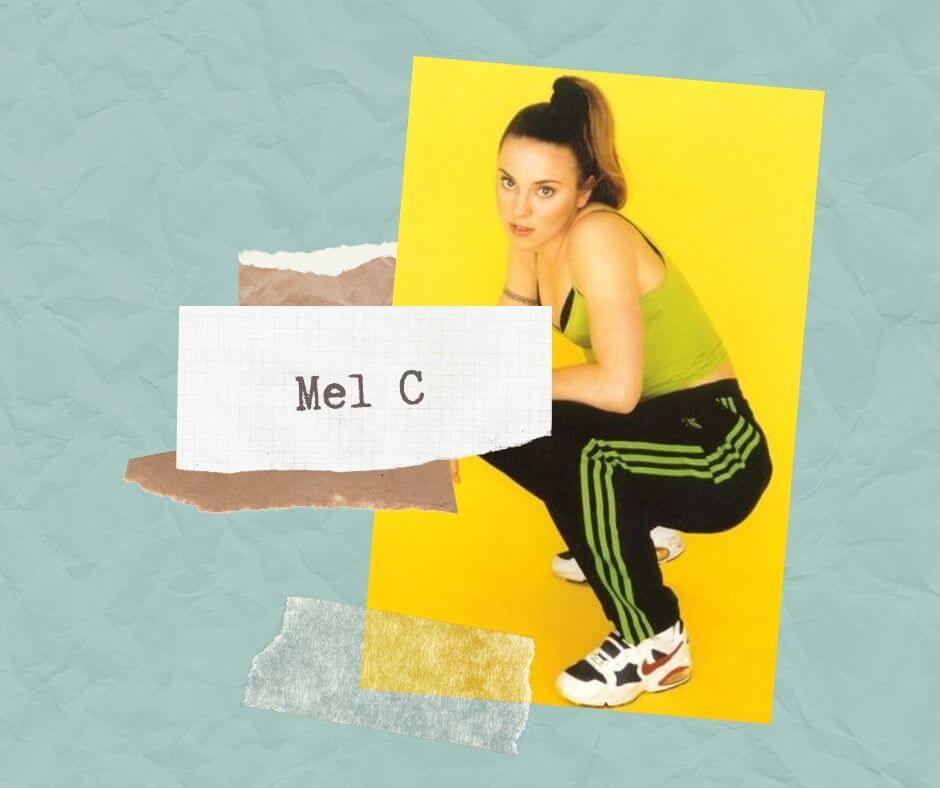 Mel C stylizacja