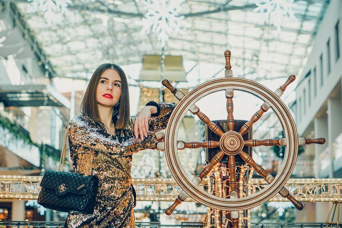 stylizacja sylwestrowa cekinowa sukienka forum gdańsk