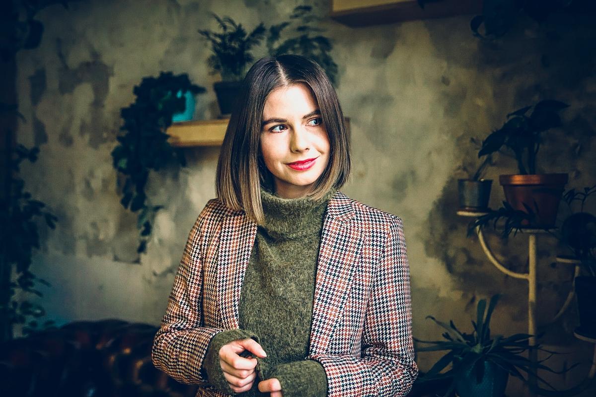blog modowy gdansk sesja w kawiarni len