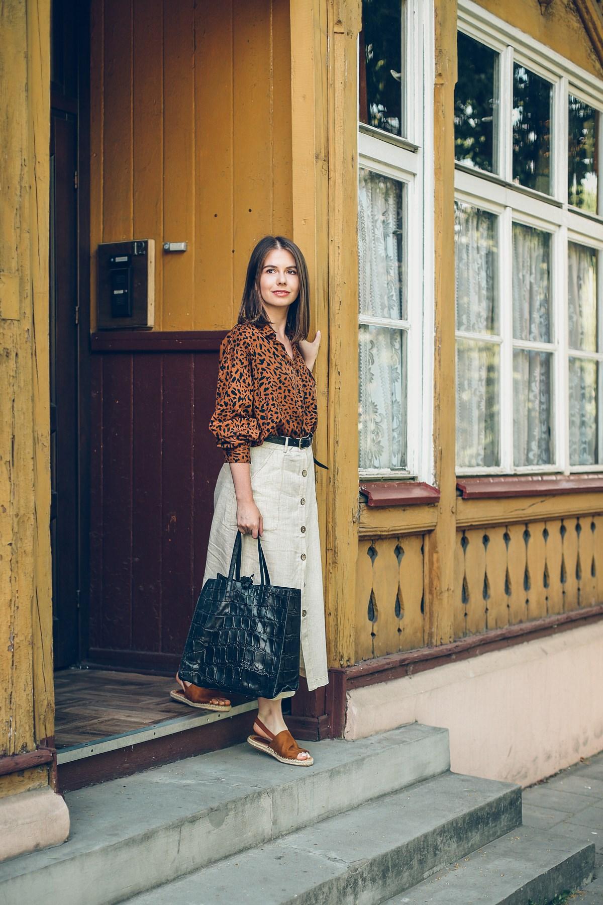 stylizacja safari blog o modzie