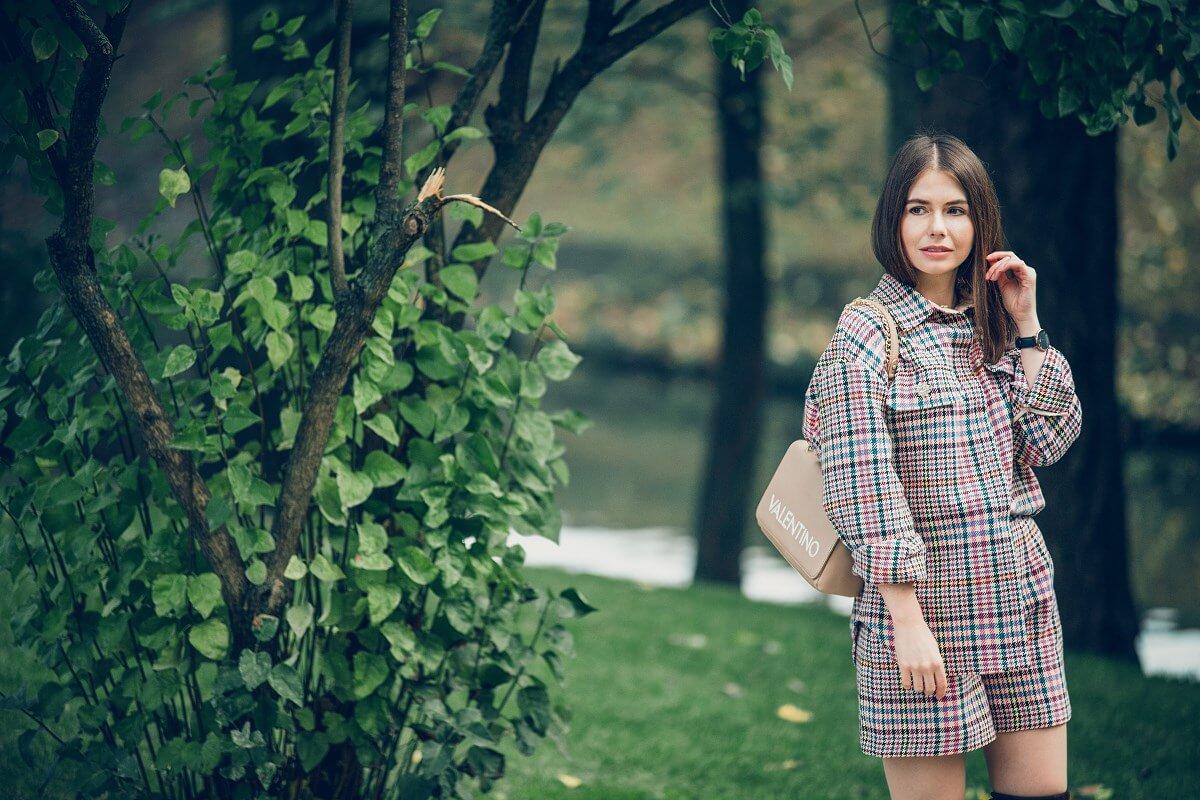 szorty na jesień krata forum gdańsk