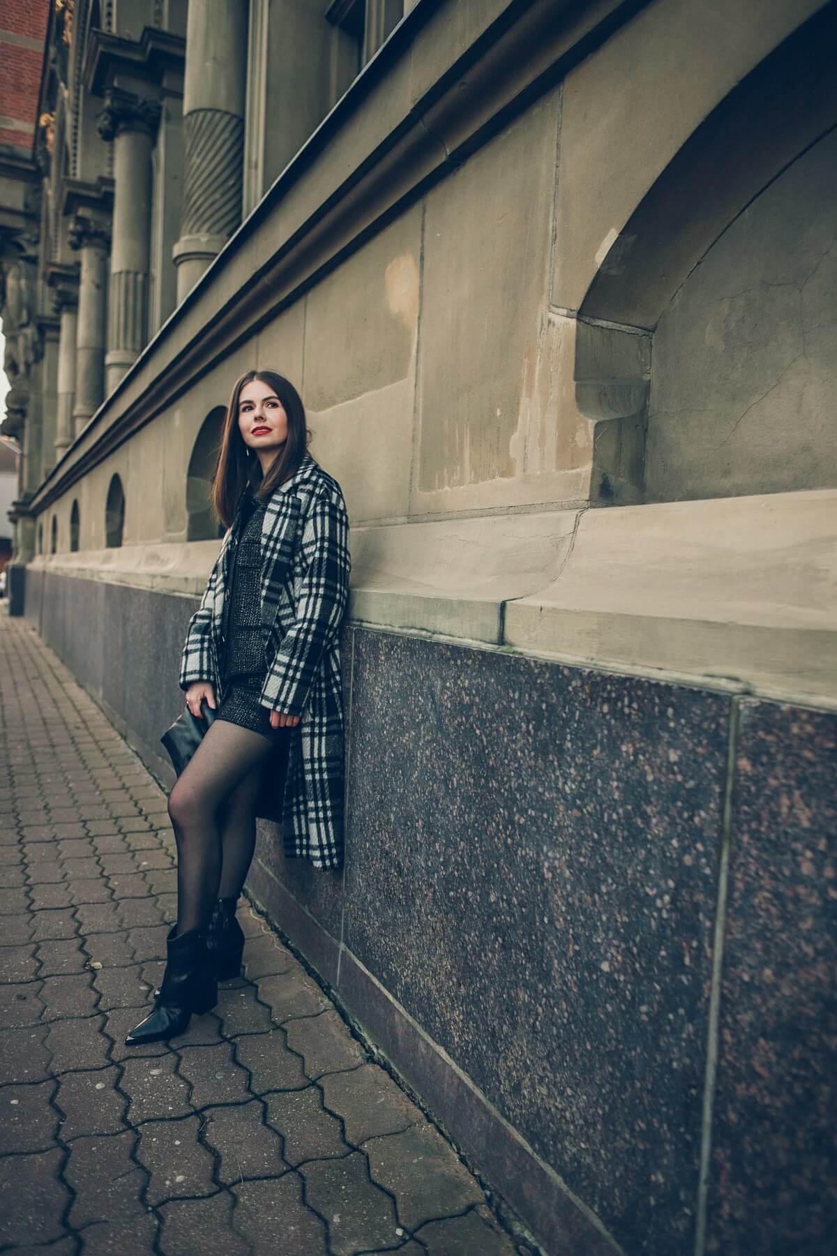 świąteczna stylizacja Forum Gdańsk