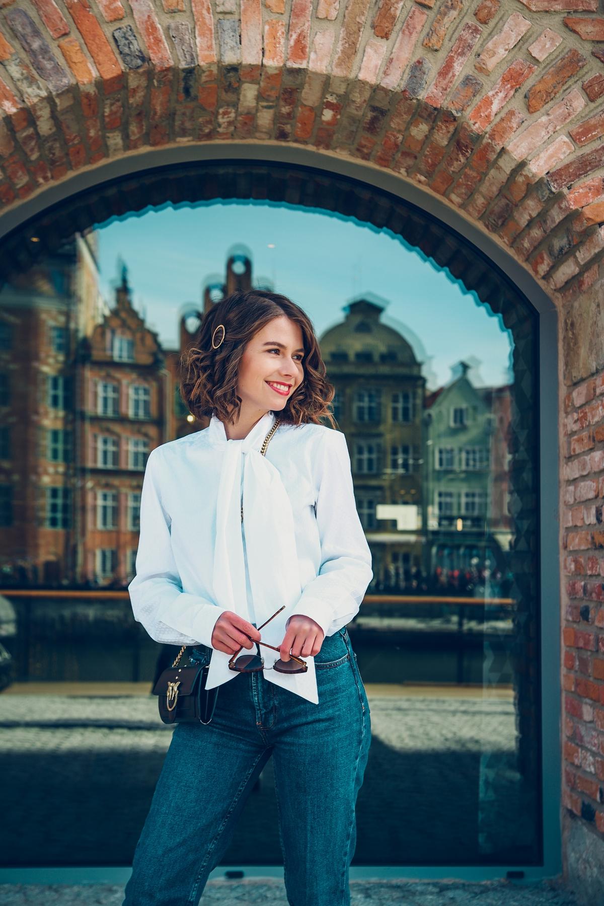 smart casual biala koszula