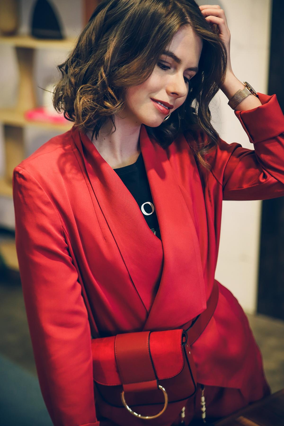 damski garnitur orsay szorty blog modowy