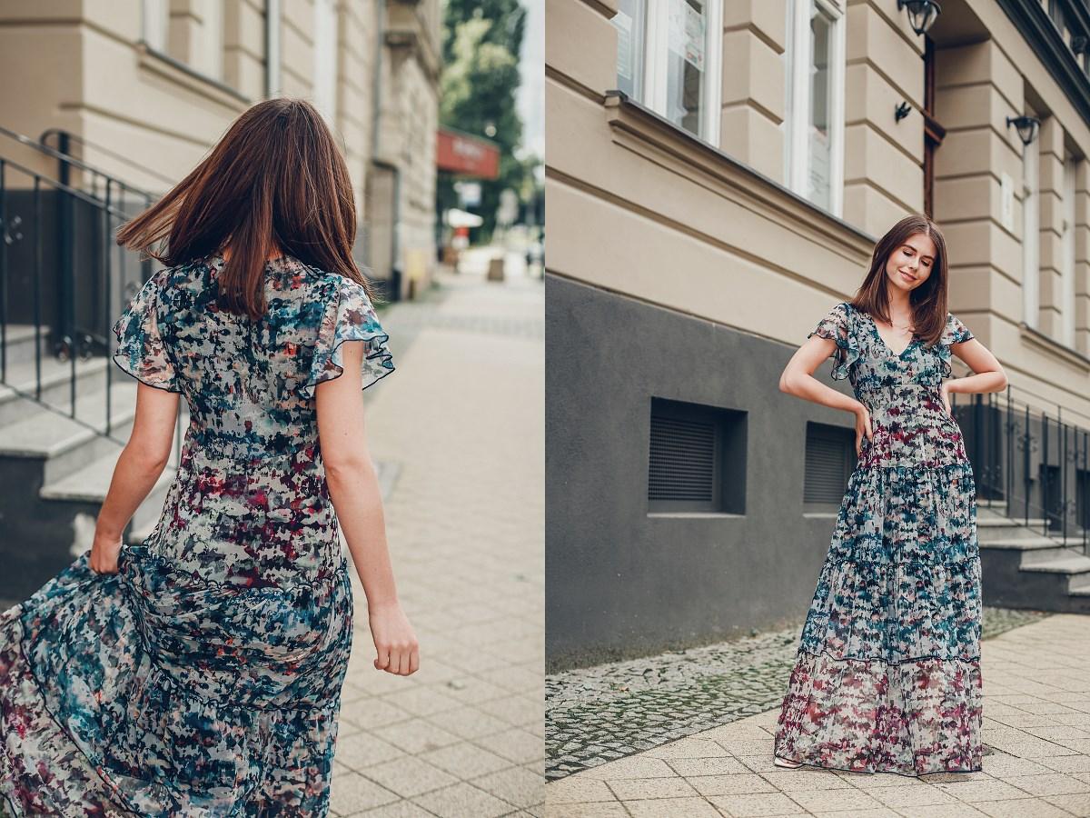 desigual sukienka maxi