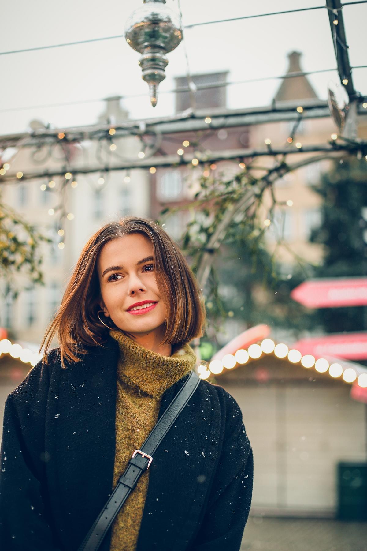 mini spódniczka w kratę jarmark bożonarodzeniowy Gdańsk (19)