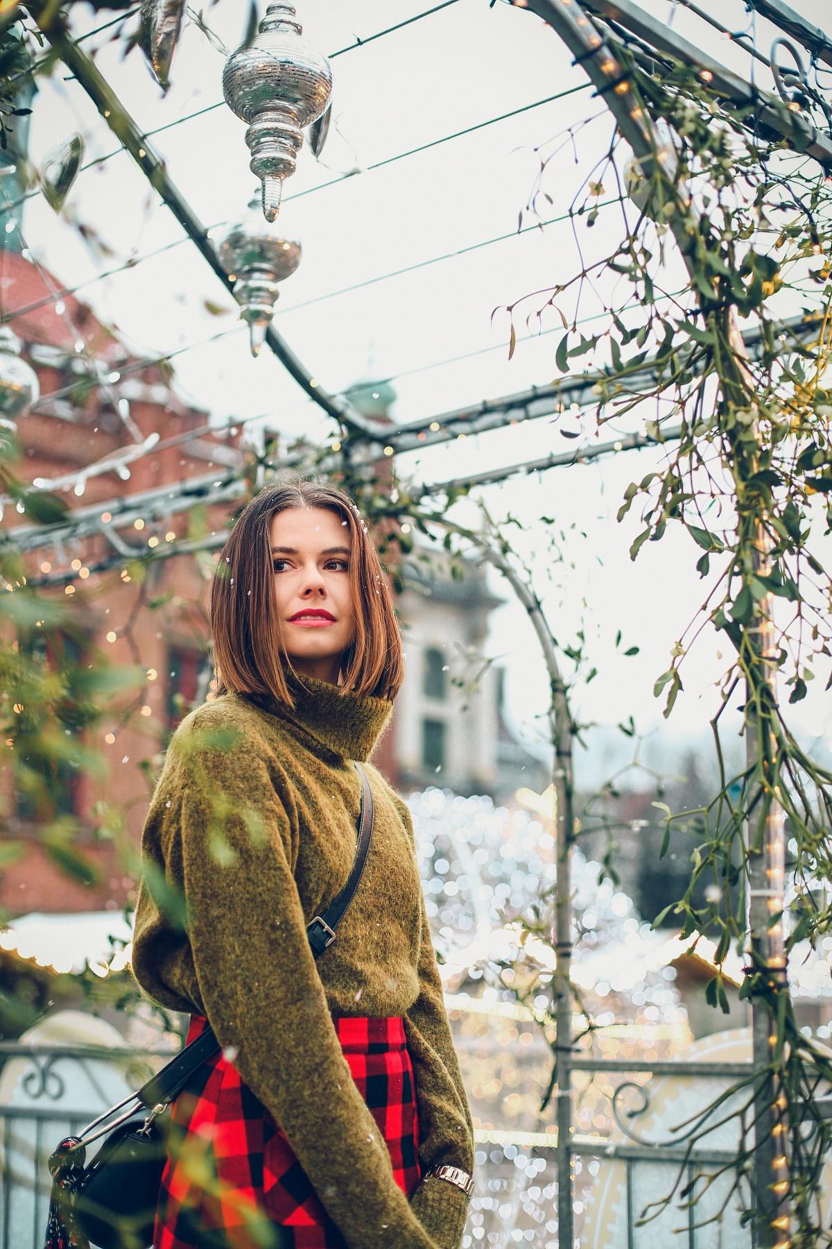 mini spódniczka w kratę jarmark bożonarodzeniowy Gdańsk (26)