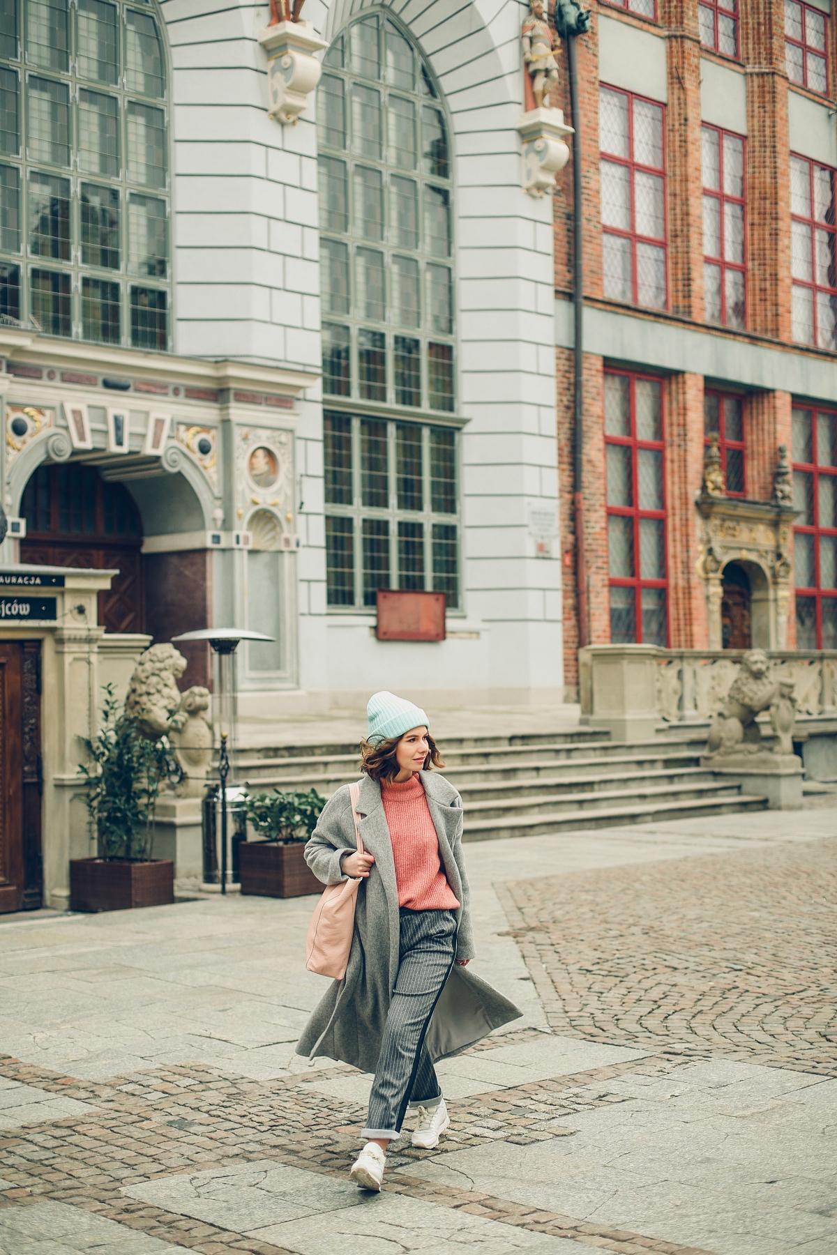 pastele sesja gdańsk answear plaszcz welniany sweter (4)