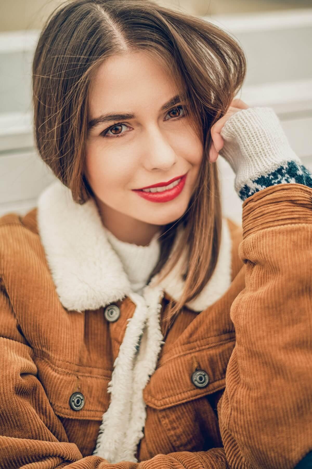 stylizacja zimowa blog modowy sesja Sopot